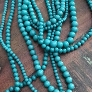 Turquoise/teal necklace!!